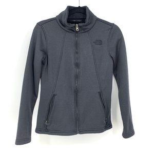 The North Face Full Zip Black Jacket Fleece Lined